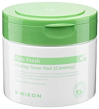 Fragrances, Perfumes, Cosmetics Soothing Peeling Pads - Mizon Pore Fresh Peeling Toner Pad