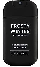 Fragrances, Perfumes, Cosmetics Virucidal Wild Berry Hand Spray - HiSkin Antibac Hand Spray Frosty Winter