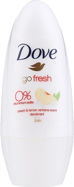 Roll-on Deodorant - Dove Go Fresh Peach & Lemon Verbena