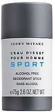 Issey Miyake Leau Dissey pour Homme Sport - Deodorant-Stick — photo N1