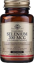 Fragrances, Perfumes, Cosmetics Dietary Supplement - Solgar Selenium 200 mcg
