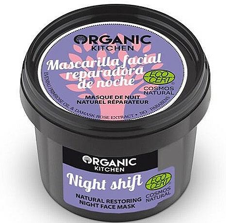 "Restoring Night Face Mask ""Night Shift"" - Organic Shop Organic Kitchen Fase Mask"