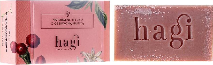 Natural Soap with Red Clay and Yarrow - Hagi Soap