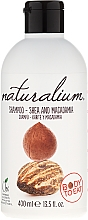 "Fragrances, Perfumes, Cosmetics Conditioning Shampoo ""Shea Butter and Macadamia"" - Naturalium Shea & Macadamia Shampoo"