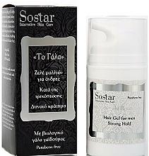 Fragrances, Perfumes, Cosmetics Anti Hair Loss Gel - Sostar Strong Hold Hair Gel For Men