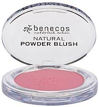 Fragrances, Perfumes, Cosmetics Face Blush - Benecos Natural Compact Blush