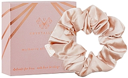 Fragrances, Perfumes, Cosmetics Silk Elastic Hair Band, gold - Crystallove