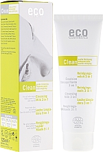Fragrances, Perfumes, Cosmetics Cleansing Milk 3in1 with Green Tea and Myrtle - Eco Cosmetics