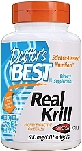 Fragrances, Perfumes, Cosmetics Real Krill, 350 mg, capsules - Doctor's Best