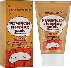 Fragrances, Perfumes, Cosmetics Pumpkin Night Mask - Too Cool For School Pumpkin Sleeping Pack