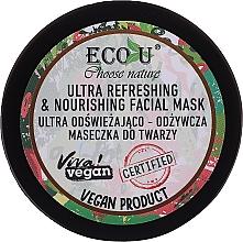 Fragrances, Perfumes, Cosmetics Ultra-Refreshing Nourishing Face Mask - Eco U Choose Nature Ultra Refreshing&Nourishing Face Mask