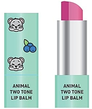 Fragrances, Perfumes, Cosmetics Two-Tone Lip Balm - Animal Two-Tone Lip Balm