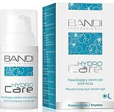 Fragrances, Perfumes, Cosmetics Moisturizing Eye Cream-Gel - Bandi Professional Hydro Care Moisturizing Eye Cream-Gel