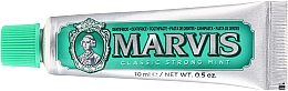 Fragrances, Perfumes, Cosmetics Toothpaste - Marvis Classic Strong Mint (mini size)