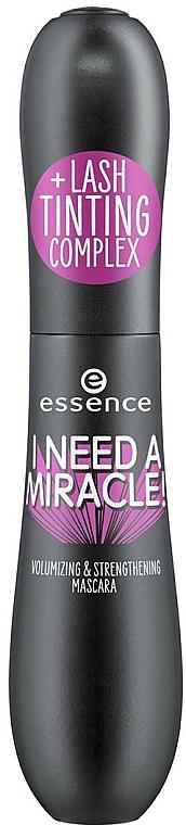 Lash Mascara - Essence I Need A Miracle! Volumizing & Strengthening Mascara