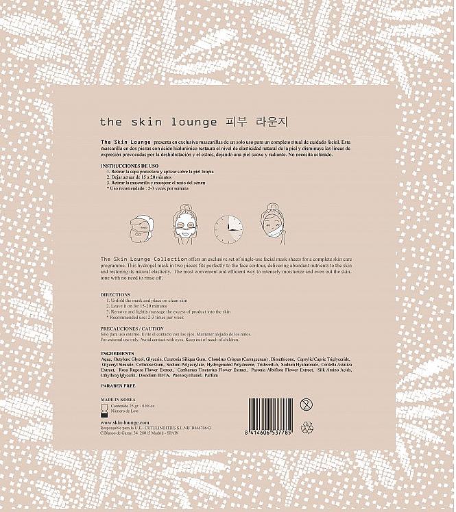 Hyaluronic Acid Hydrogel Mask - The Skin Lounge Hydrogel Hyaluronic Acid Mask — photo N2