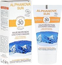 Fragrances, Perfumes, Cosmetics Sunscreen - Alphanova Sun SPF 30 Sans Parfum Bio