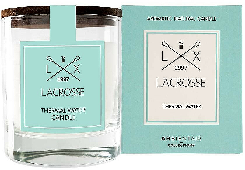 Scented Candle - Ambientair Lacrosse Thermal Water Candle — photo N1