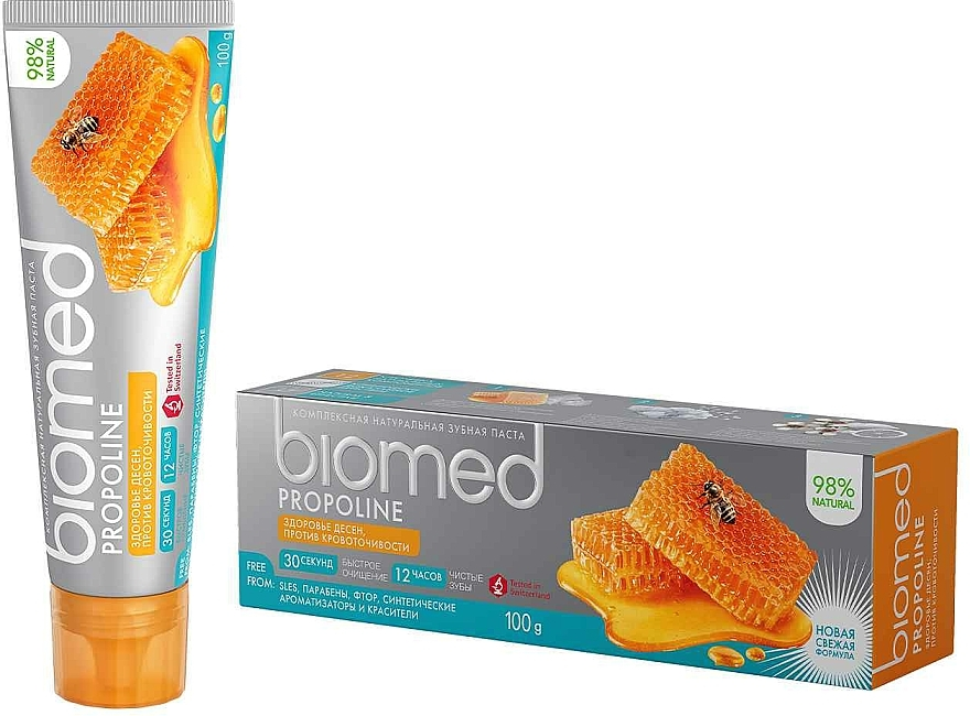 """Tone-Up Toothpaste """"Propolis"""" - Biomed Propoline"""