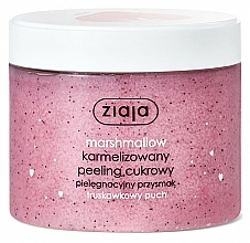 "Fragrances, Perfumes, Cosmetics Body Sugar Peeling ""Strawberry Marshmallow"" - Ziaja Sugar Body Peeling"