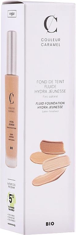 Foundation Fluid - Couleur Caramel Fond De Teint Fluide Hydra Jeunesse