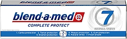 """Fragrances, Perfumes, Cosmetics Toothpaste """"Complex 7+ Whitening"""" - Blend-a-Med Complete Protect 7 Crystal White Toothpaste"""