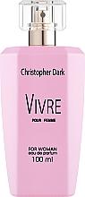 Fragrances, Perfumes, Cosmetics Christopher Dark Vivre - Eau de Parfum