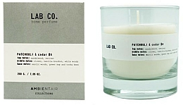 Fragrances, Perfumes, Cosmetics Scented Candle - Ambientair Lab Co. Patchouli & Cedar