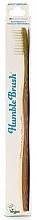 Fragrances, Perfumes, Cosmetics Bamboo Toothbrush for Adults - The Humble Co. Adult Medium White Toothbrush