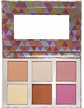 Fragrances, Perfumes, Cosmetics Shimmering Makeup Palette - Bellapierre Glowing Palette 2