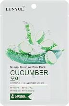 Fragrances, Perfumes, Cosmetics Cucumber Sheet Mask - Eunyul Natural Moisture Mask Pack