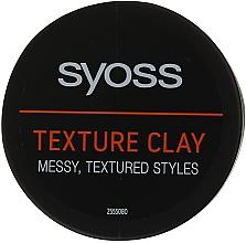 Fragrances, Perfumes, Cosmetics Texturizing Hair Clay - Syoss Texture Clay