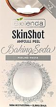 "Fragrances, Perfumes, Cosmetics Fine-Grained Face Scrub ""Soda"" - Bielenda Skin Shot Backing Soda"