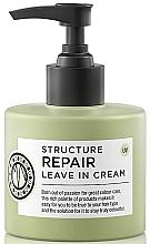 Fragrances, Perfumes, Cosmetics Hair Cream - Maria Nila Structure Repair Leave In Cream