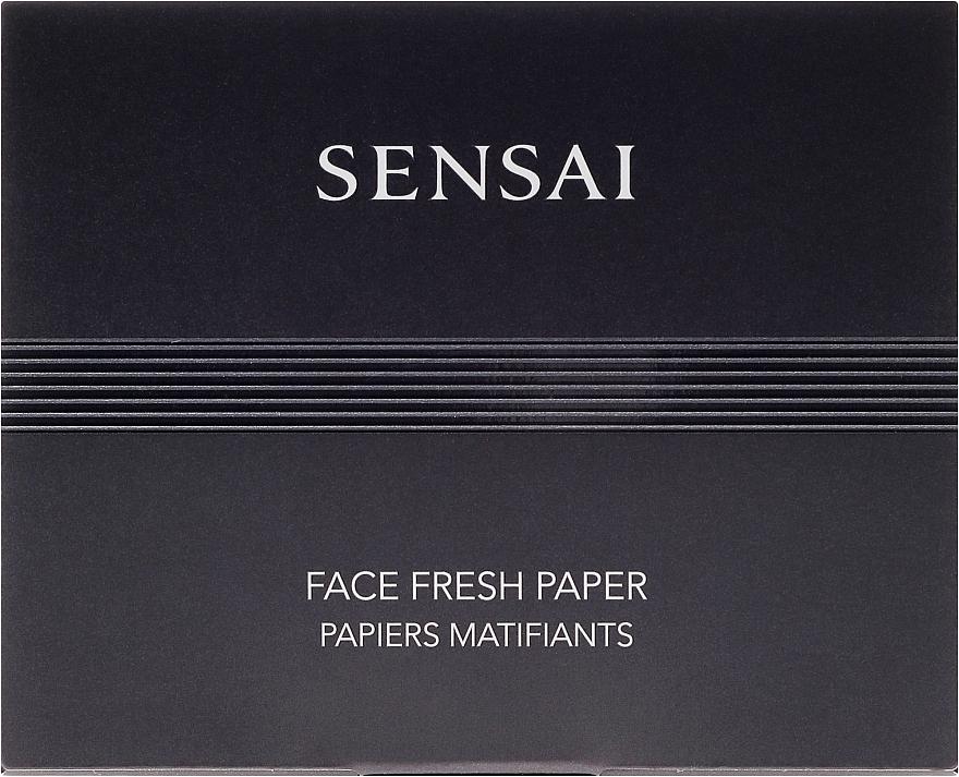 Refreshing Facial Wipes - Kanebo Sensai Face Fresh Paper — photo N1
