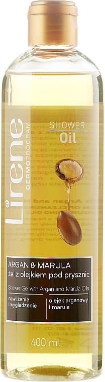 Shower Oil - Lirene Shower Oil Argan + Marula