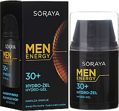 Fragrances, Perfumes, Cosmetics Hydrogel, 30+ - Soraya Men Energy