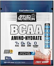 "Fragrances, Perfumes, Cosmetics Sports Nutrition ""Fruit Burst"" - Applied Nutrition BCAA Amino-Hydrate Fruit Burst (sachet)"
