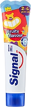 Fragrances, Perfumes, Cosmetics KIds Toothpaste with Fruit Scent - Signal Kids Toothpaste