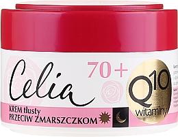 """Fragrances, Perfumes, Cosmetics Anti-Wrinkle Cream """"Vitamin"""" - Celia Q10 Face Cream 70+"""
