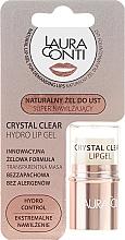 Fragrances, Perfumes, Cosmetics Moisturizing Lip Gel - Laura Conti Crystal Clear Hydro Lip Gel