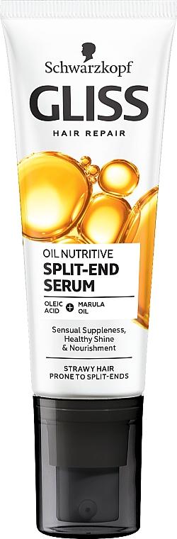Hair Ends Fluid 8 Presicious Oils - Schwarzkopf Gliss Kur Oil Nutritive 8 Presicious Oils