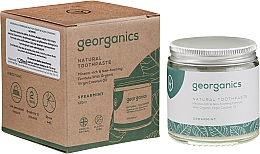 Fragrances, Perfumes, Cosmetics Natural Toothpaste - Georganics Spearmint Natural Toothpaste