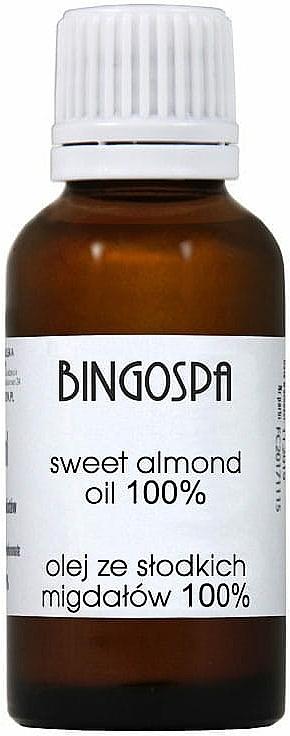 Sweet Almond Oil - BingoSpa