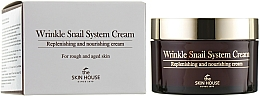 Fragrances, Perfumes, Cosmetics Anti-Aging Snail Cream - The Skin House Wrinkle Snail System Cream