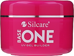 Fragrances, Perfumes, Cosmetics Nail Camouflage Gel Polish - Silcare Base One UV Gel Builder Cover Light