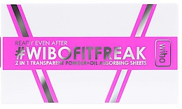 Fragrances, Perfumes, Cosmetics 2-in-1 Compact Powder - Wibo Ready Even After 2 In 1 Transparent Powder + Oil Absorbing Sheets