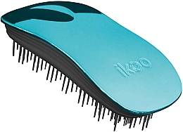 Fragrances, Perfumes, Cosmetics Hair Brush - Ikoo Home Pacific Metallic Black
