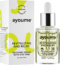Fragrances, Perfumes, Cosmetics Vitamin Face Serum - Ayoume Vita Tree Recovery Serum