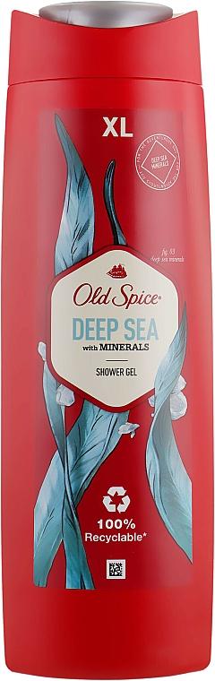 Shower Gel - Old Spice Deep Sea With Minerals Shower Gel